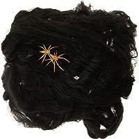 Partyforte Halloween YL15-3B Web Decoration, Black, 20g