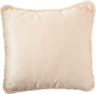 product image for Glenna Jean Victoria Pillow with Cord, Tan Velvet