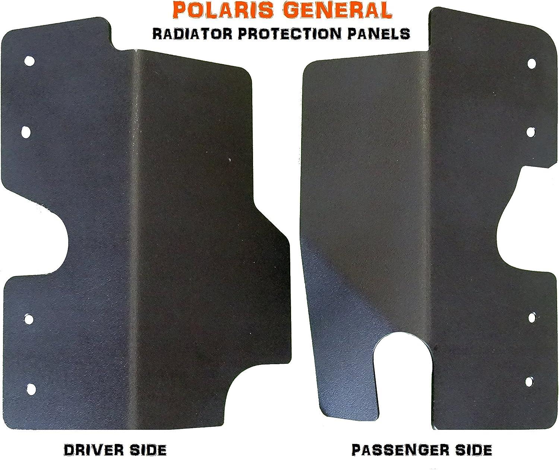 MudBusters Polaris General Radiator Guard Protection Panels
