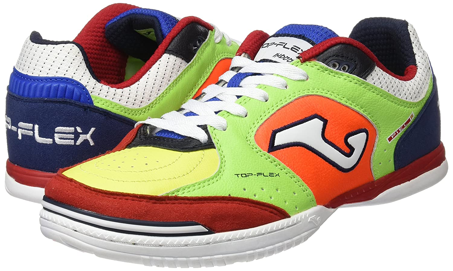Joma TOPS.726.IN - Zapatillas para hombre, color Multicolor (Phosphor Marineblau), talla 44 EU
