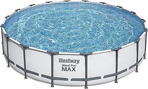 Bestway 56463 Steel Pro MAX Swimming Pool Set 18' x 48″