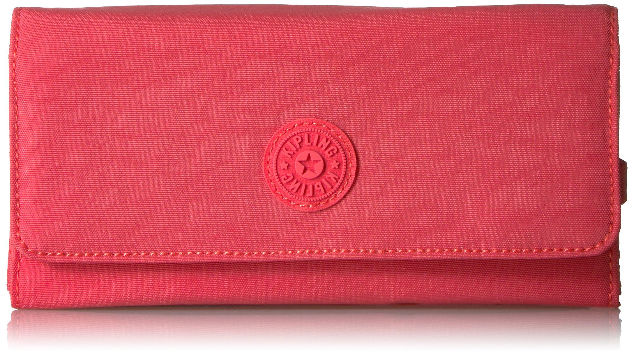 New Teddi Solid Snap Wallet Wallet, PAPAYAORNG, One Size