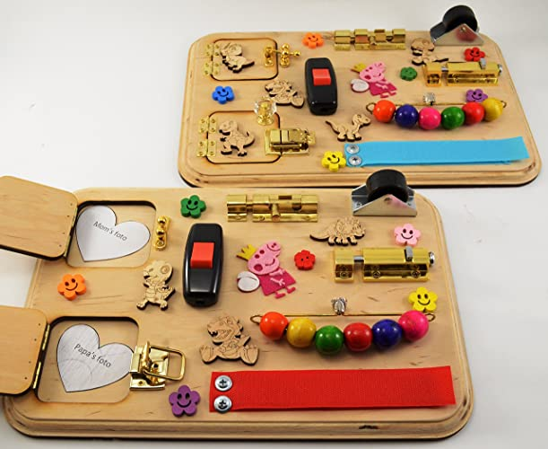 Learning Toys For Autistic Toddlers : Amazon piece toy for travel sensory board busy board