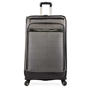 96e0482b9 Perry Ellis Lexington II Lightweight Large Check-in Spinner Luggage,  Herringbone