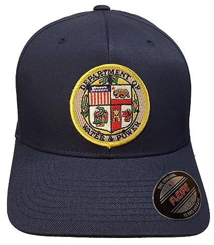 9af7ca56 Amazon.com : Los Angeles DWP Water & Power Hat Navy Flexfit Size L ...