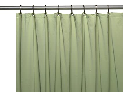 Genial Carnation Home Fashions 72 By 84 Inch Waterproof Vinyl Shower Curtain  Liner, X