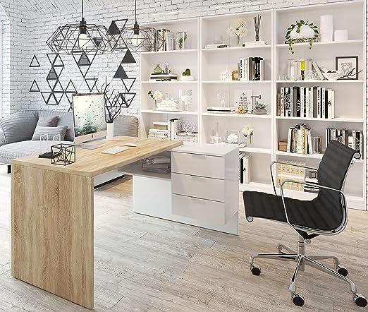 Miroytengo Conjunto despacho Zeus Oficina Mesa Escritorio 3 ...