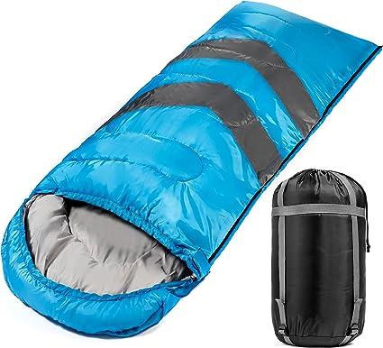 Amazon.com: Saco de dormir grande para cálido y frío 4 ...