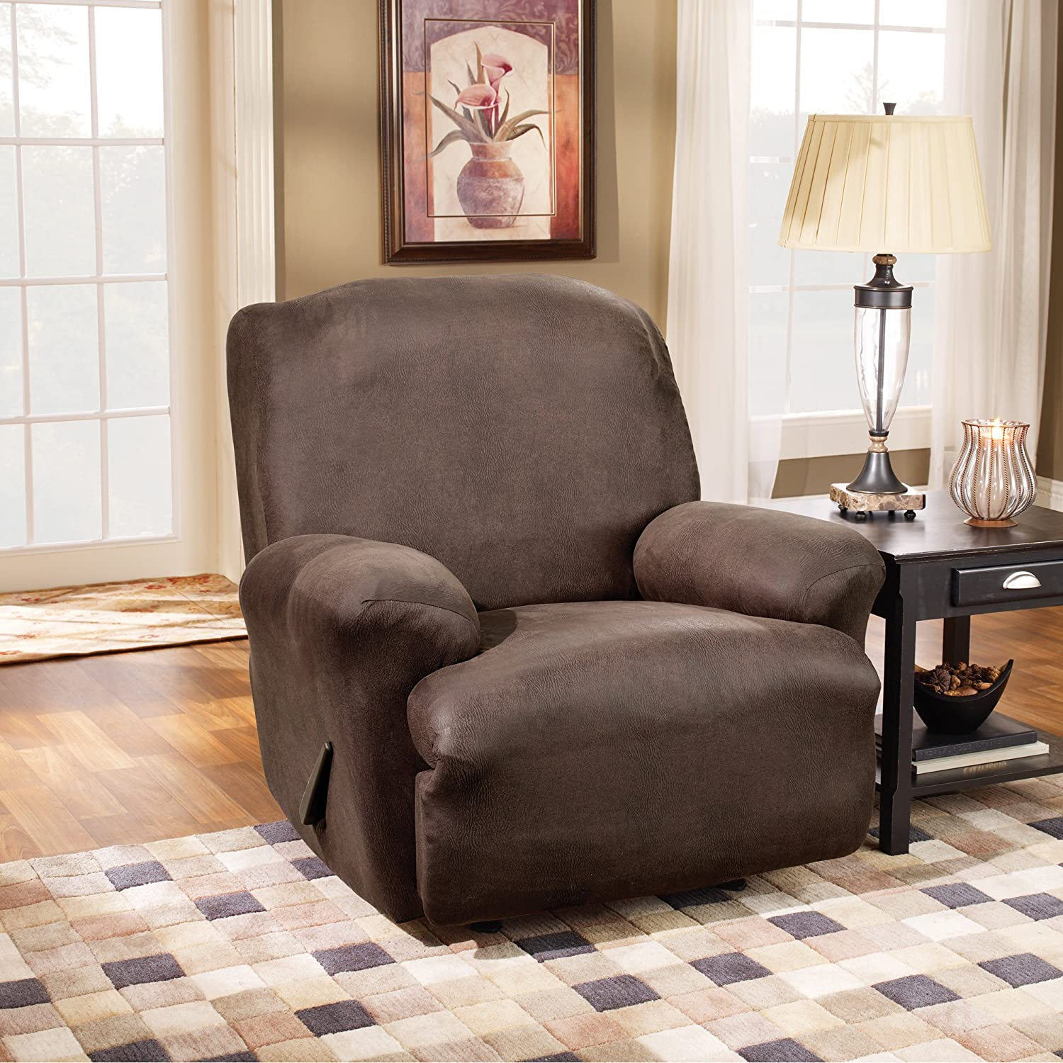 slipcover recliner for lazy boy sofa rec with