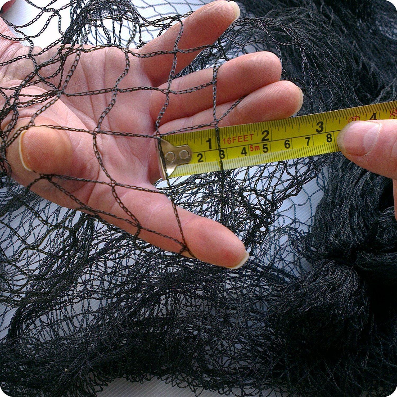6m x 5m Elixir Gardens /® Bird//Fruit//Crop//Pond//Agricultural//Garden Netting Black