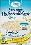 Schapfenmühle Porridge natur, 10er Pack (10 x 260 g)