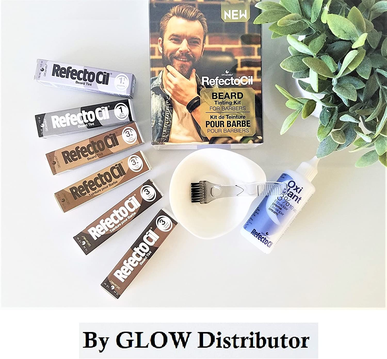 RefectoCil - Kit de tinte para barba