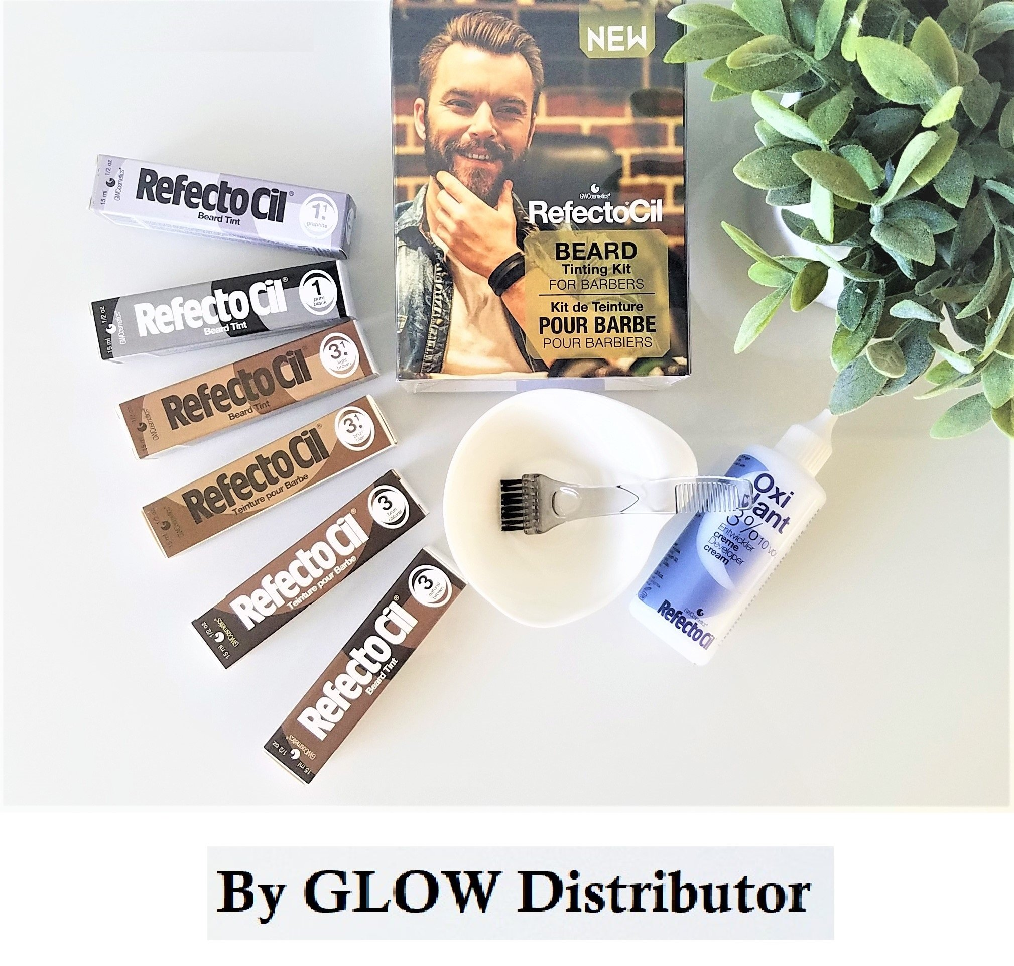 RefectoCil Beard Tinting Kit for Barbers
