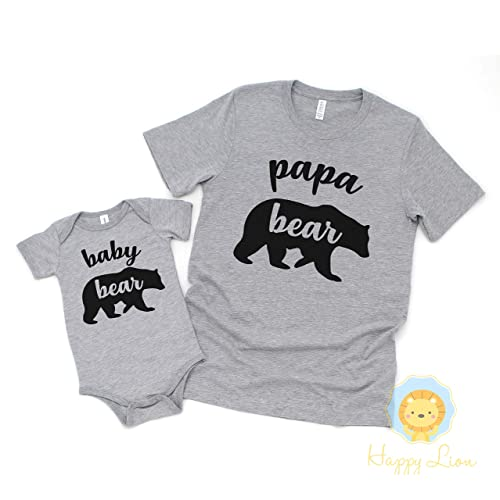 73397dc7 Amazon.com: Happy Lion Clothing - Baby Bear Shirt or Bodysuit, or ...