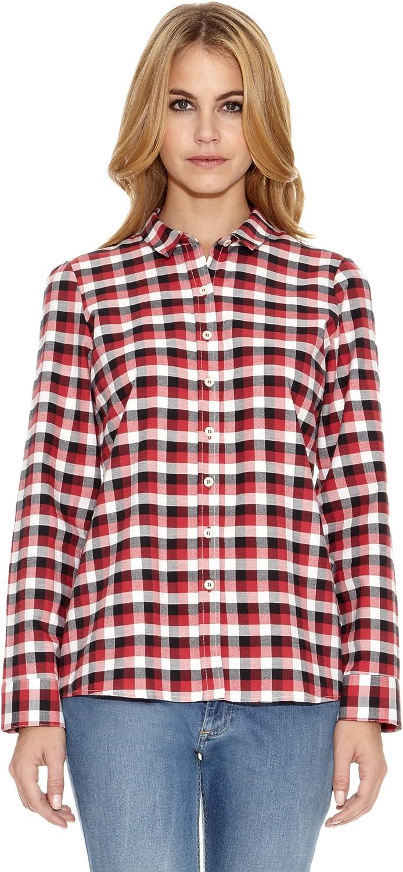 El Ganso Camisa Fredy Cuadros Vichy Negro/Rojo/Blanco ES 44: Amazon.es: Ropa y accesorios