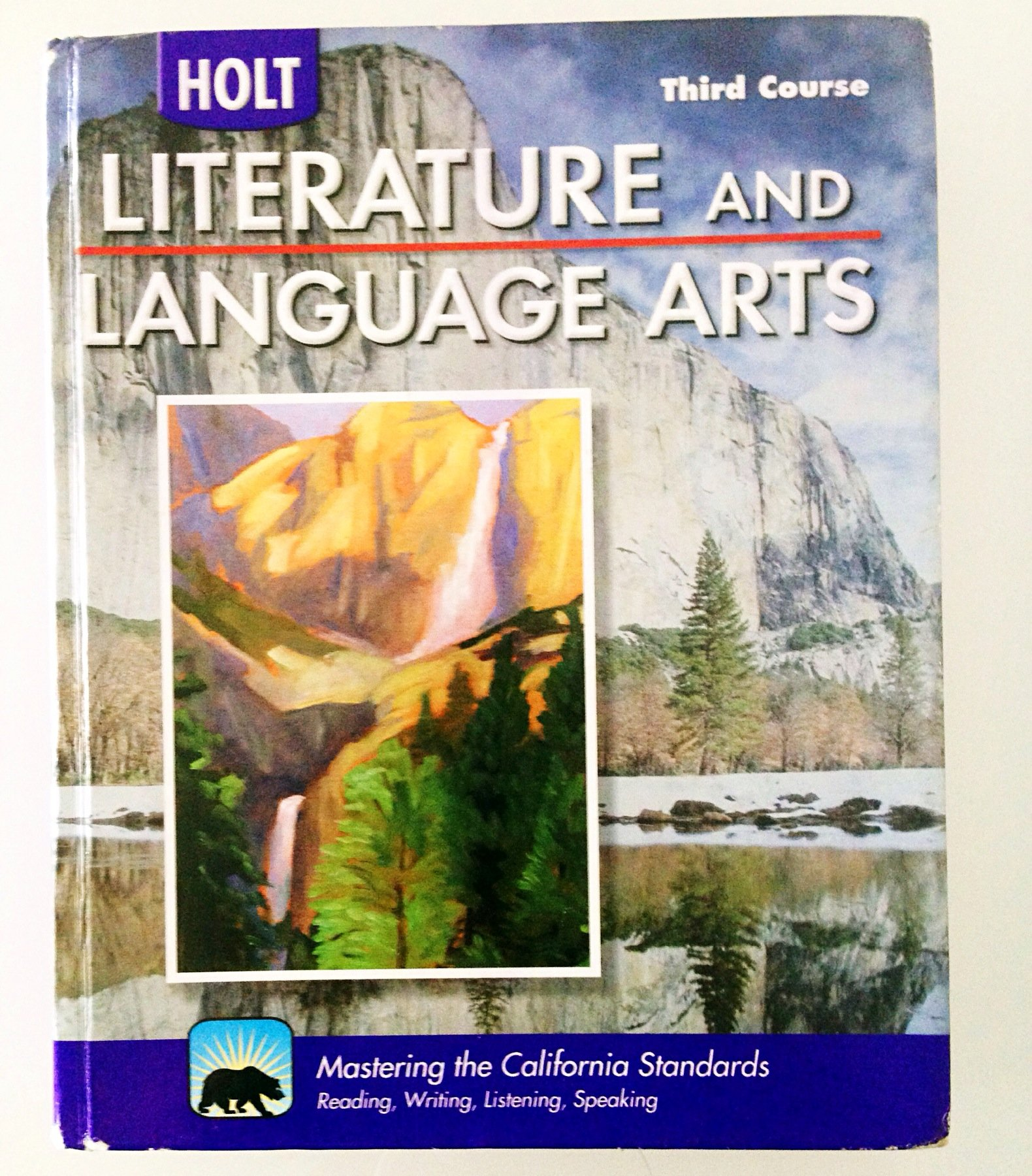 Holt Literature and Language Arts: Student Edition Grade 9 2009 by HOLT, RINEHART AND WINSTON