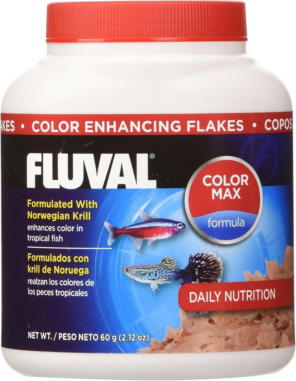 Fluval Hagen 35gm Color Enhancing Flakes Fish Food