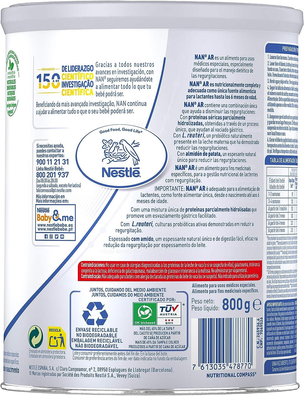 Nestlé Alimento en Polvo para Lactantes con Regurgitaciones ...