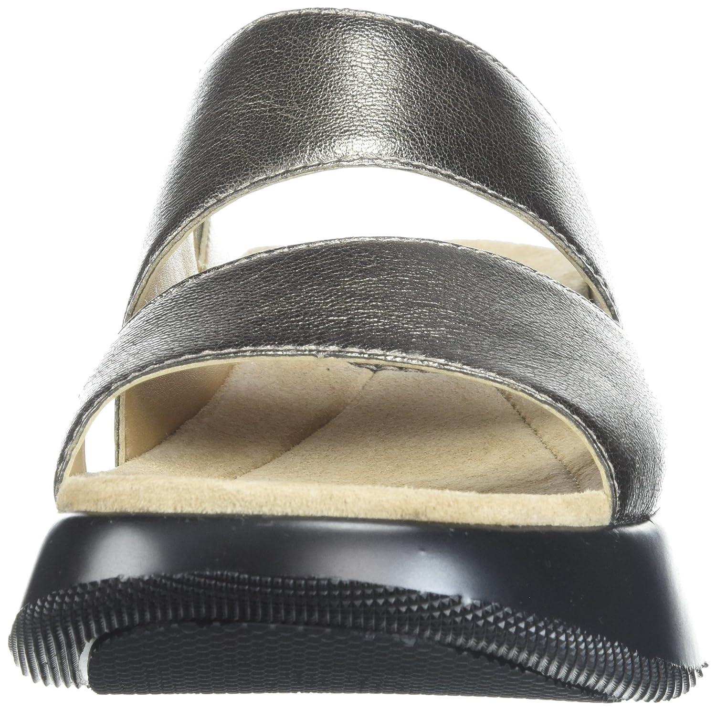 Dansko Women's Lana Slide Sandal B072WHPMMN 40 M EU (9.5-10 US) Pewter Nappa