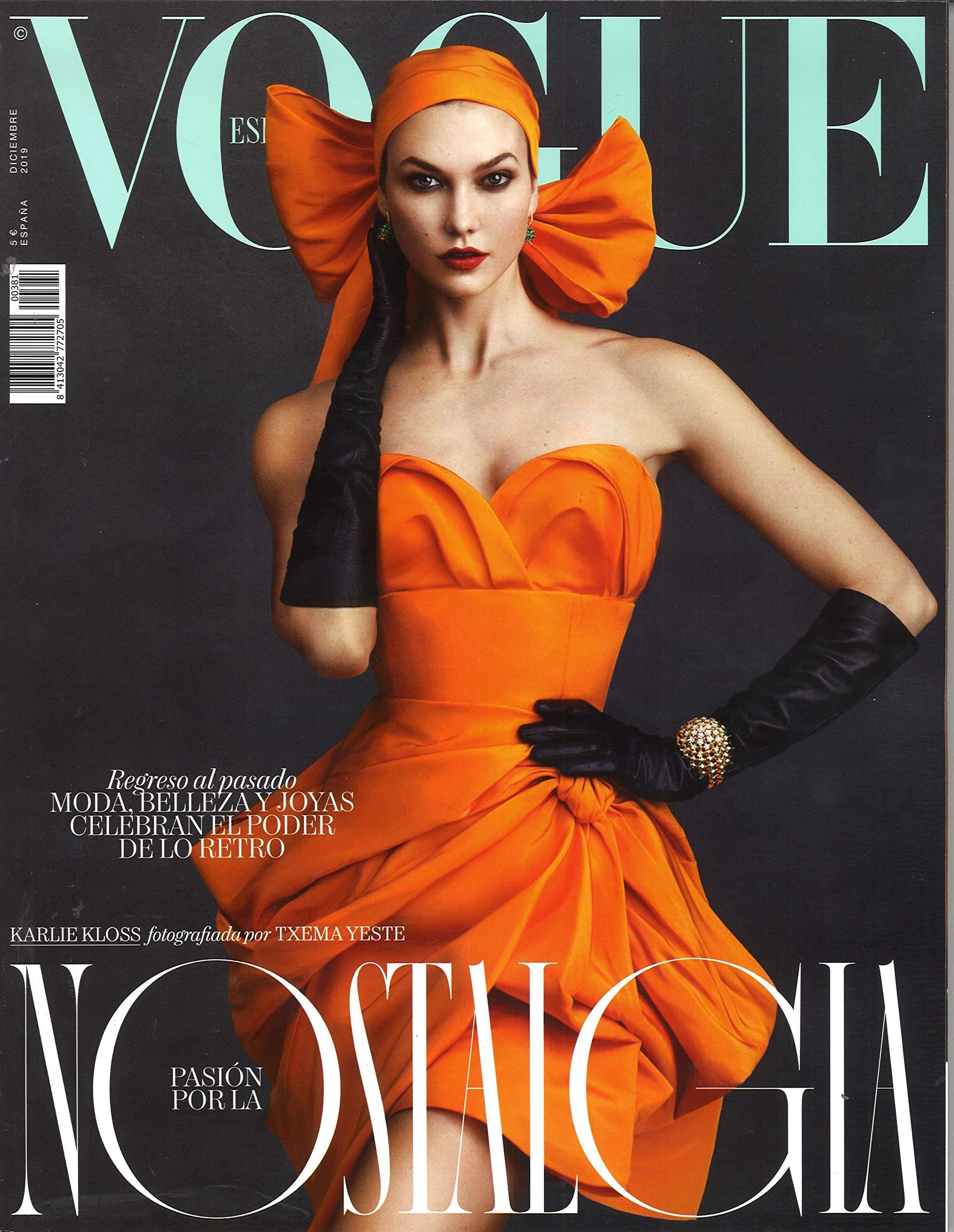 Vogue españa - diciembre 2019 - nº 381: Amazon.es: Vv.Aa, Vv ...