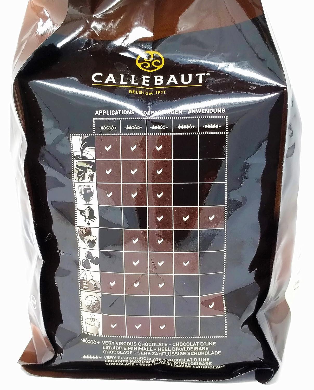 Callebaut N° 811 (54,5%) - Cobertura de Chocolate Negro Belga - Finest Belgian Dark Chocolate (Callets) 2,5kg: Amazon.es: Alimentación y bebidas