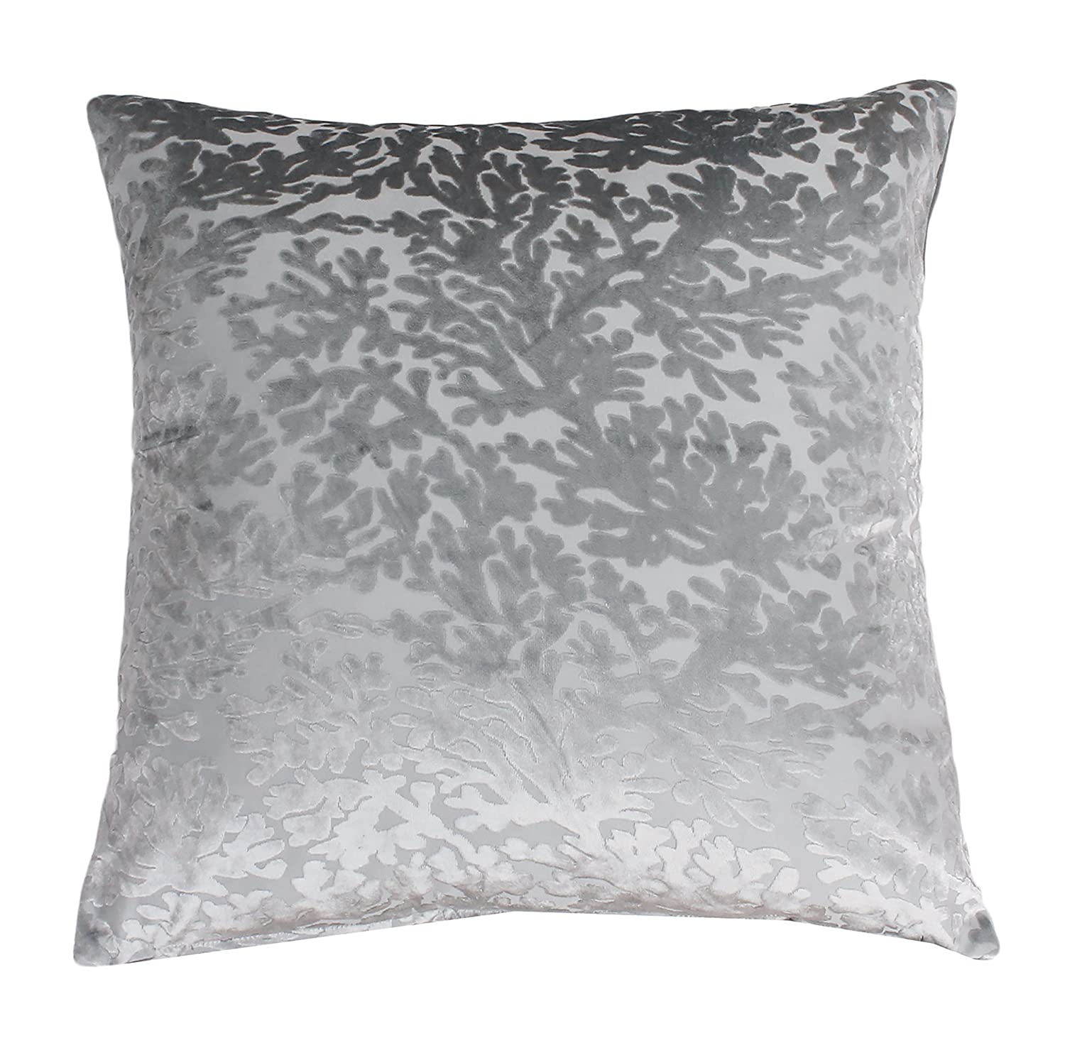 Thro TH009826011E Cara Coral Pillow 20 x 20 Silver