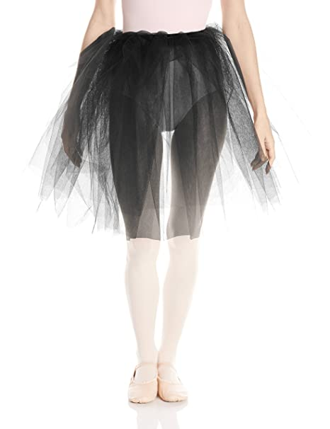 85d63bfeee Amazon.com: Capezio Womens Romantic Tutu, Black, One Size: Clothing