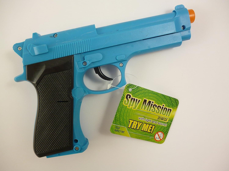 KT 28cm Azul Pistola de Juguete con la luz + Sound - Policía Juego de Roles - El Vestido