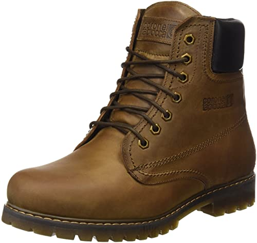 Coronel Tapioca Tapiocca, Botines para Hombre, Marrón (Brown), 45 EU: Amazon.es: Zapatos y complementos