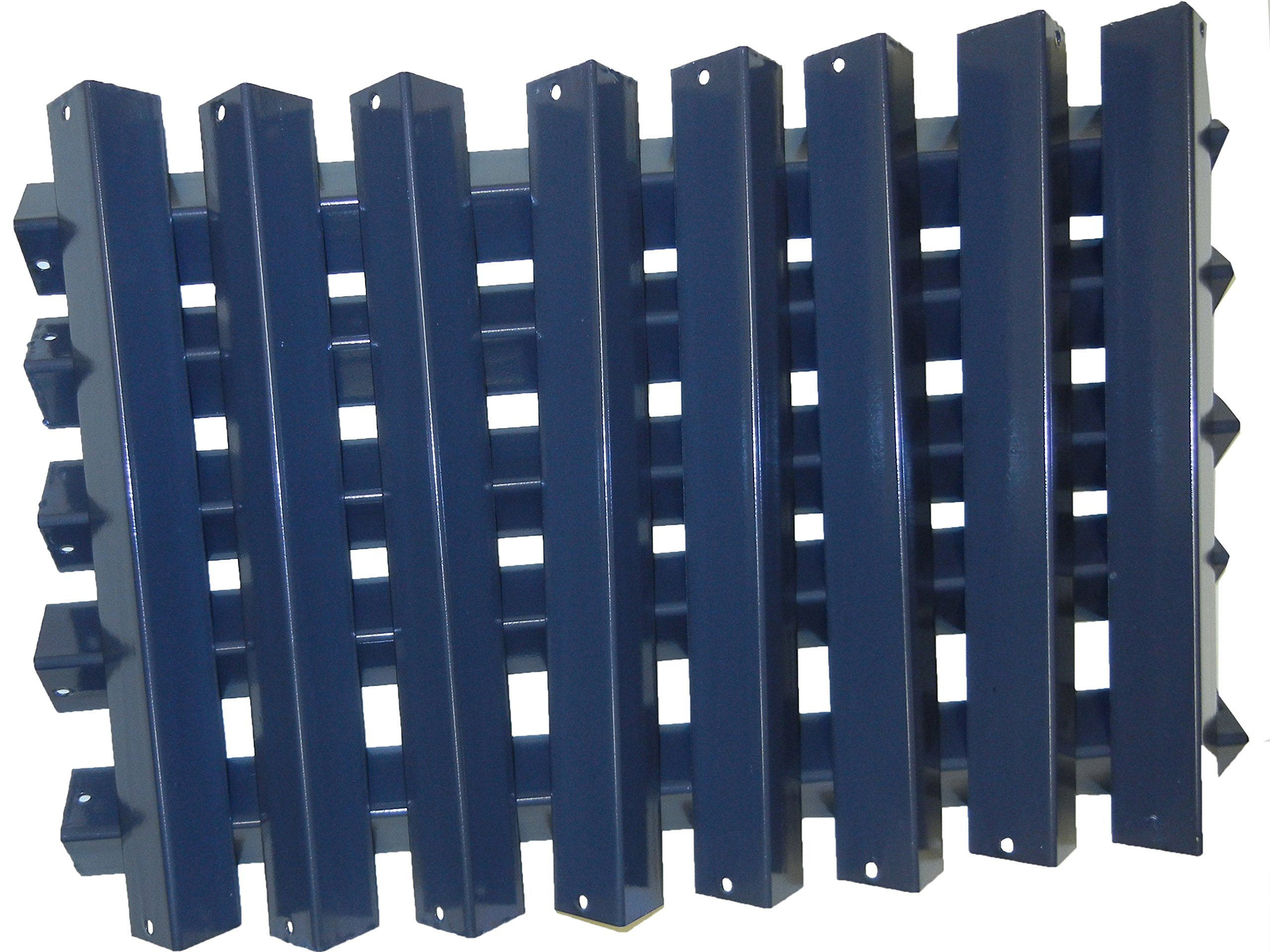 Music City Metals 99813 Porcelain Steel Heat Plate Replacement for Select Weber Gas Grill Models,1 pack of 13 plates