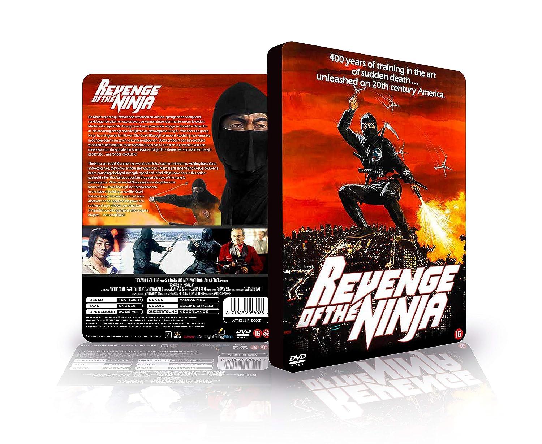 Revenge of the Ninja Combo pack DVD - BLURAY 3D embossing ...