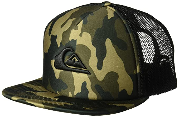 7774947ed1e8c Amazon.com  Quiksilver Men s All in Trucker HAT
