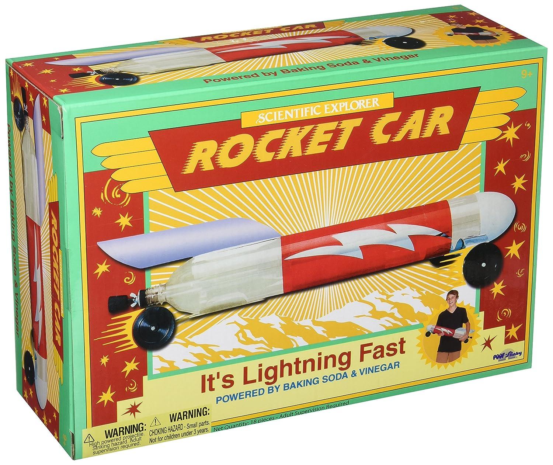 Slinky Scientific Explorers Rocket Car Kit-, Other, Multicoloured Notions Marketing 0SA203