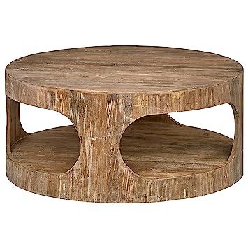 Amazon.com: Stone & Beam Miramar Cutout - Mesa de café, 15.5 ...
