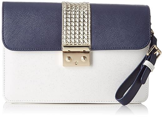 Bleu Pochette Or Blanc CAESARS Carry Marine femme L'AETELIER BawqIxt1O