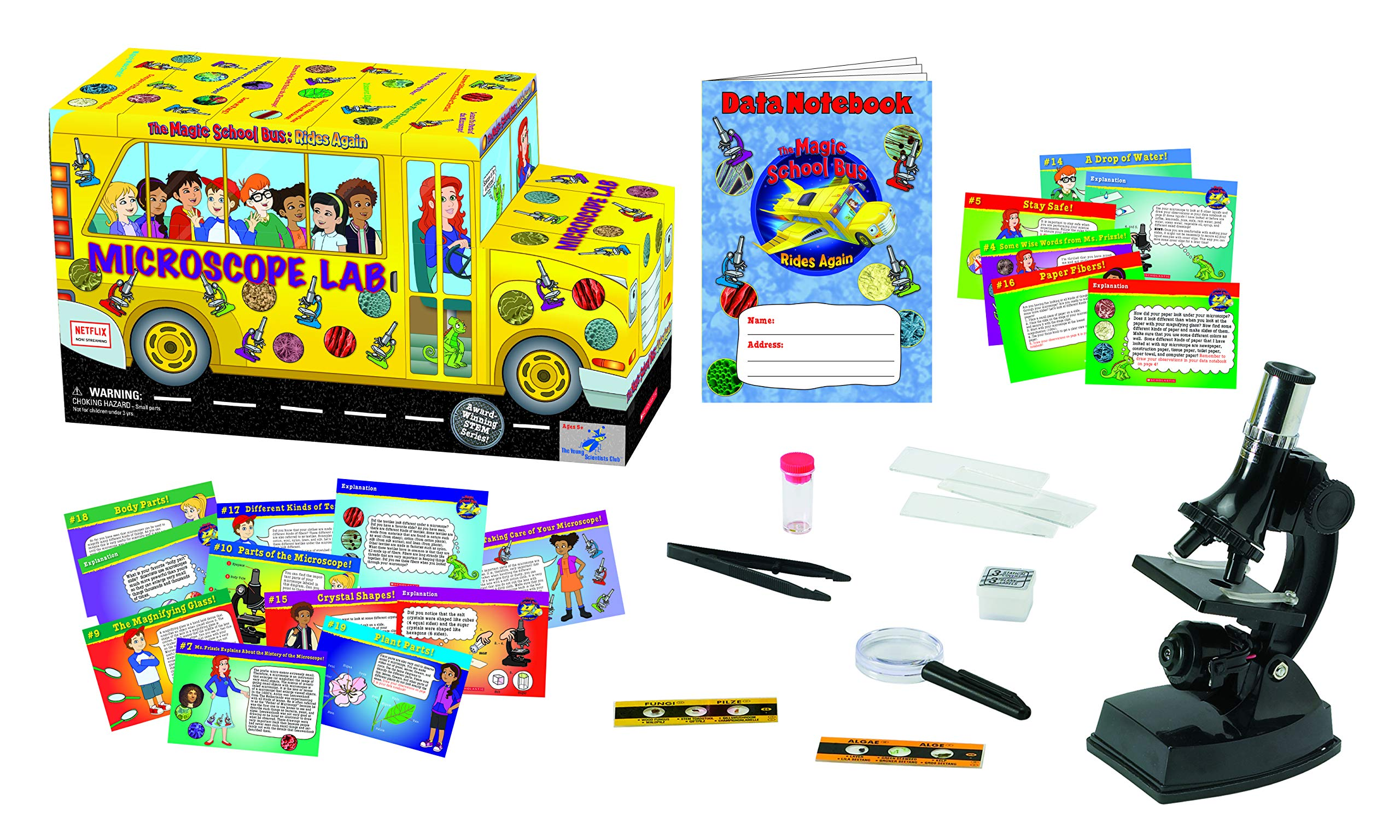 The Magic School Bus: Microscope Lab by The Young Scientists Club