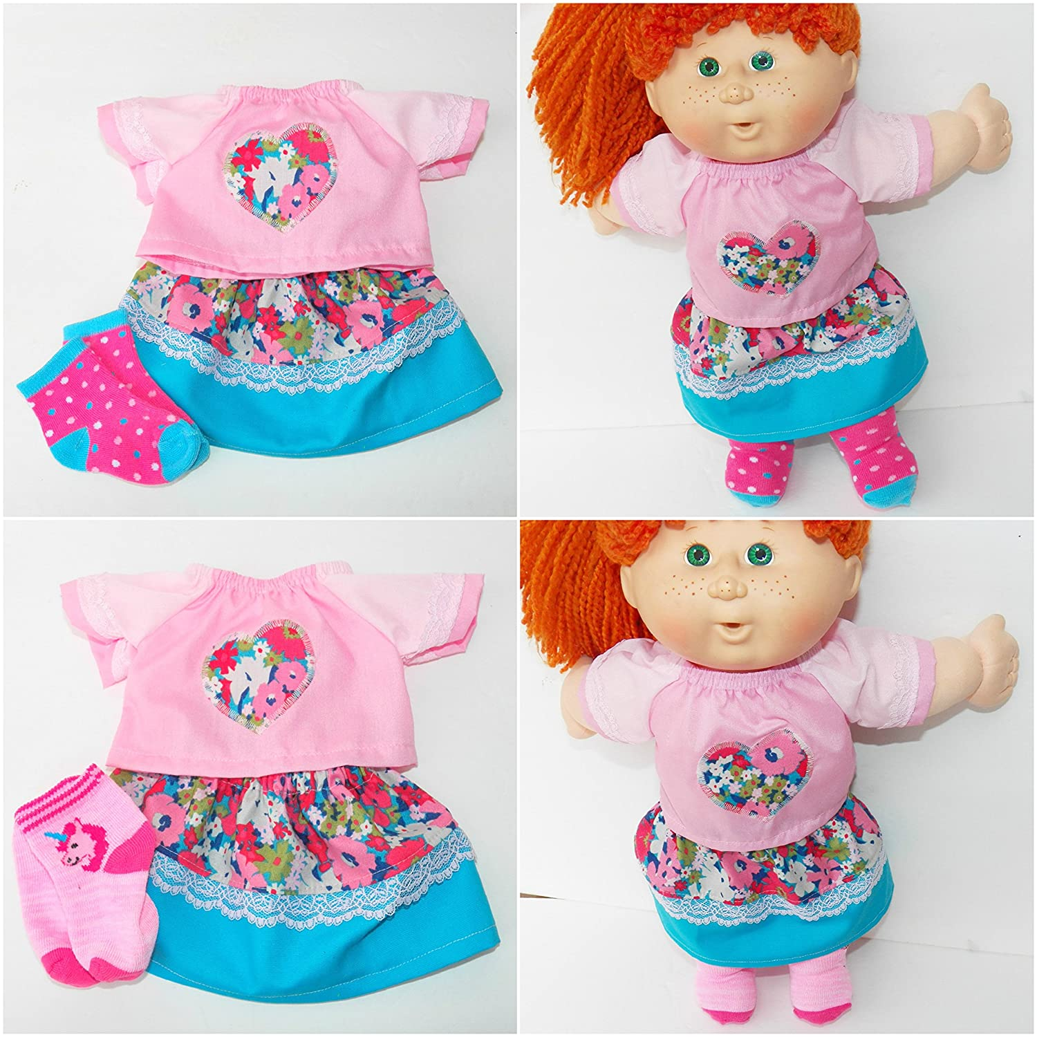 NEW SOCKS TO FIT THE MY CHILD /& CABBAGE PATCH DOLL ADDITIONAL PAIRS SHIP FREE