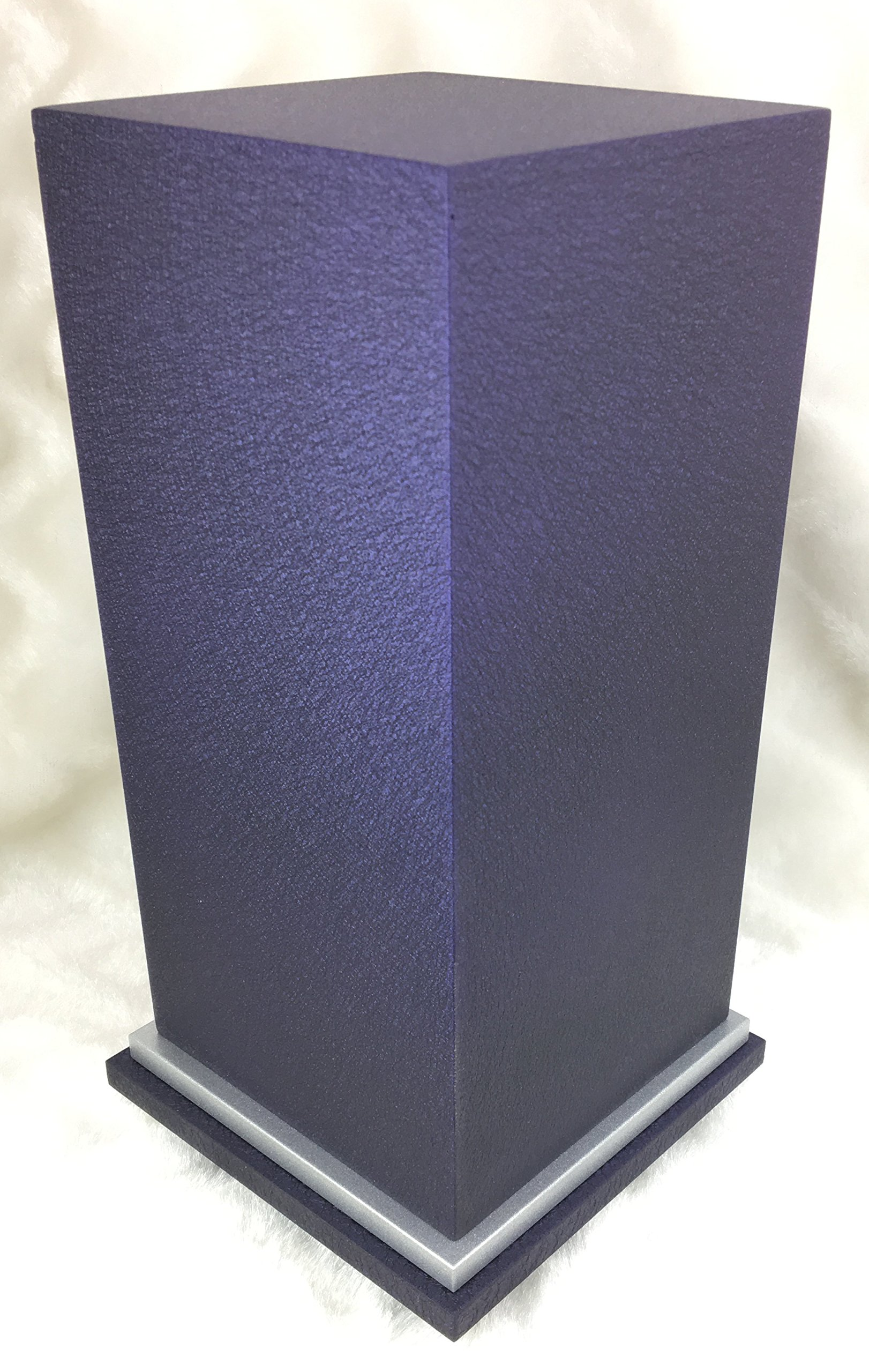 PERSONALIZED Engraved Butterfly Cremation Urn for Human Ashes-Made in America-Handcrafted in the USA by Amaranthine Urns (Adult Funeral Urn up to 200 lbs living weight) Eaton SE- (Purple Velvet) by Amaranthine Urn Company (Image #3)