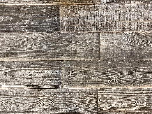 Amazon Com Holeywood Smart Paneling 3d Barn Wood Design 3 Diy