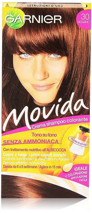 3 opinioni per Garnier Garnier Movida Crema Shampoo Colorante, 30 Mogano