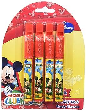 Mickey Mouse, Verbetena 014000547, Blíster con 4 Flautas ...