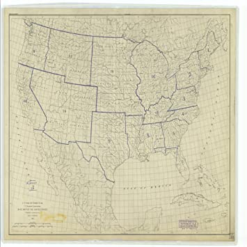 18 x 24 canvas 1893 us old nautical map drawing chart of base map of the