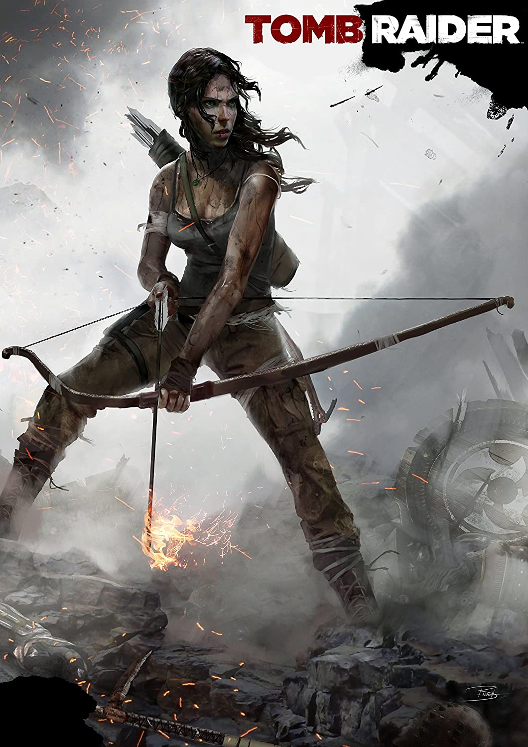 Tomb Raider Poster Amazoncouk PC Video Games