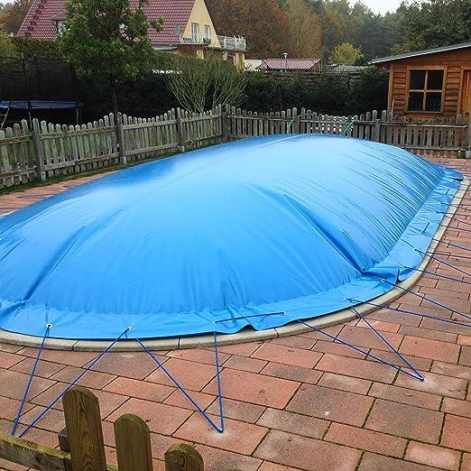 hinchable protectora Ocho Forma 540 x 350 cm para piscina y ...