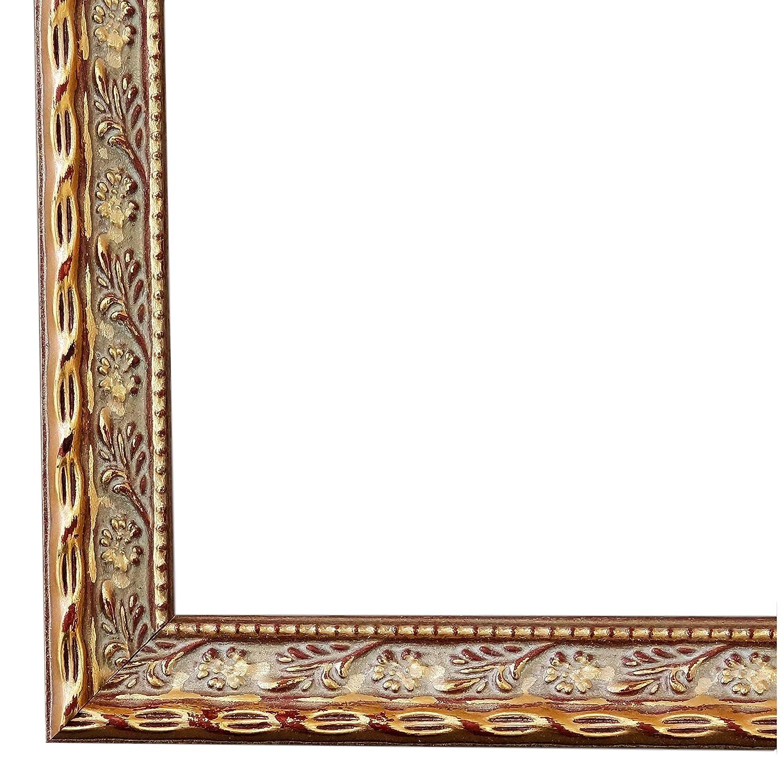 Amazon.de: Bilderrahmen Brescia Gold 2, 0-60 x 60 cm - LR - 500 ...