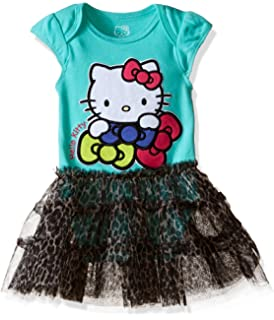 Hello Kitty Girls Little Happy Birthday Tutu Dress