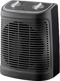 Rowenta Instant Comfort Compact Calefactor, 2400 W, 44 Decibeles, 2 Velocidades, Negro