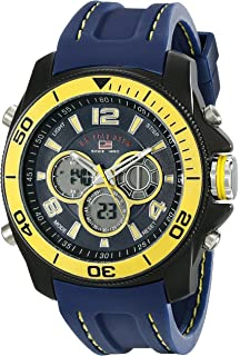 2afddd16daf U.S. Polo Assn. Sport Men s US9322 Sport Watch with Navy Silicone Band