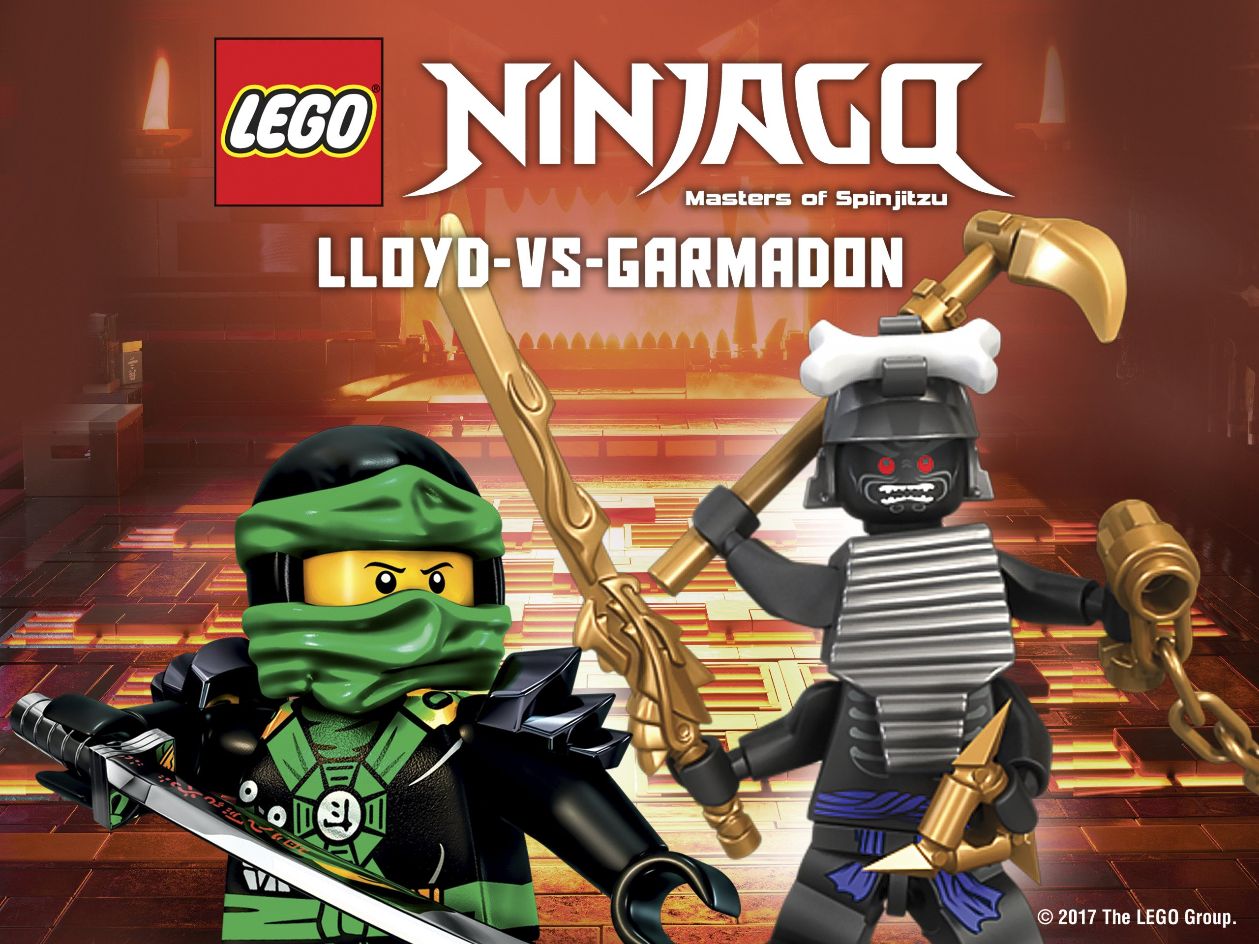 Amazon.com: LEGO Ninjago: Lloyd vs. Garmadon: Vincent Tong ...