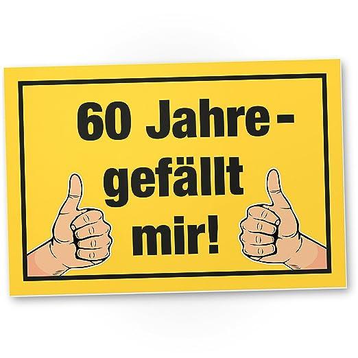 DankeDir!. por Fin 60 años - Me Gusta plástico Cartel - 60 ...